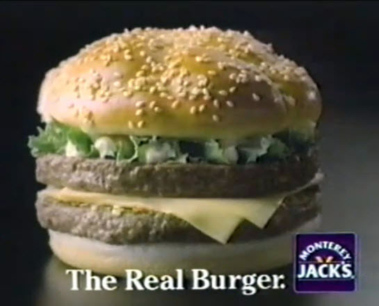 Monterey Jack's (Jack in the Box) logo (1985 - 1986)
