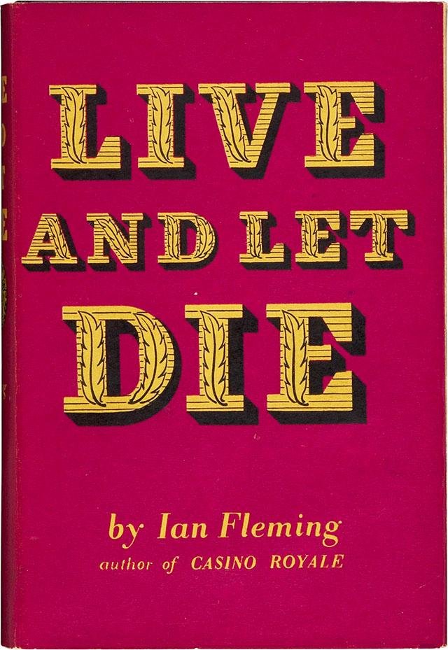 live and let die book pdf