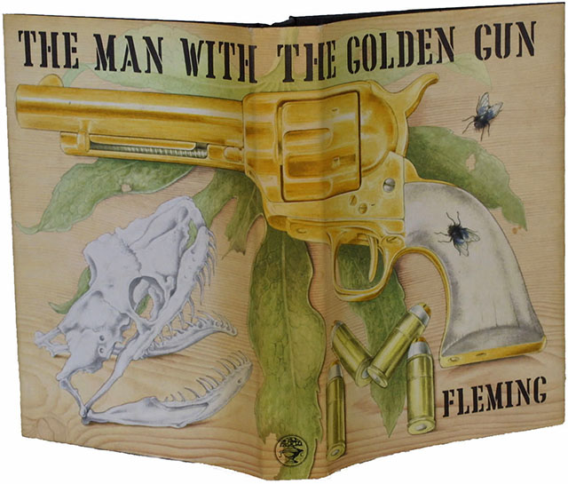 First Edition Man With The Golden Gun The Man With The Golden Gun