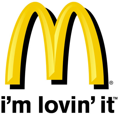 "McDonald's ""i'm lovin' it"" logo (2003 - 2006)"