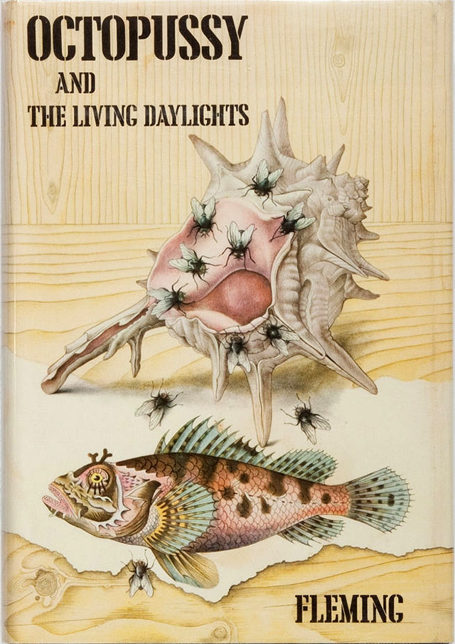 Octopussy and The Living Daylights book cover