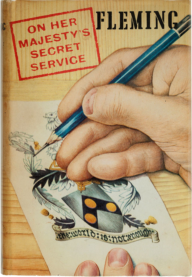 On Her Majesty's Secret Service book cover