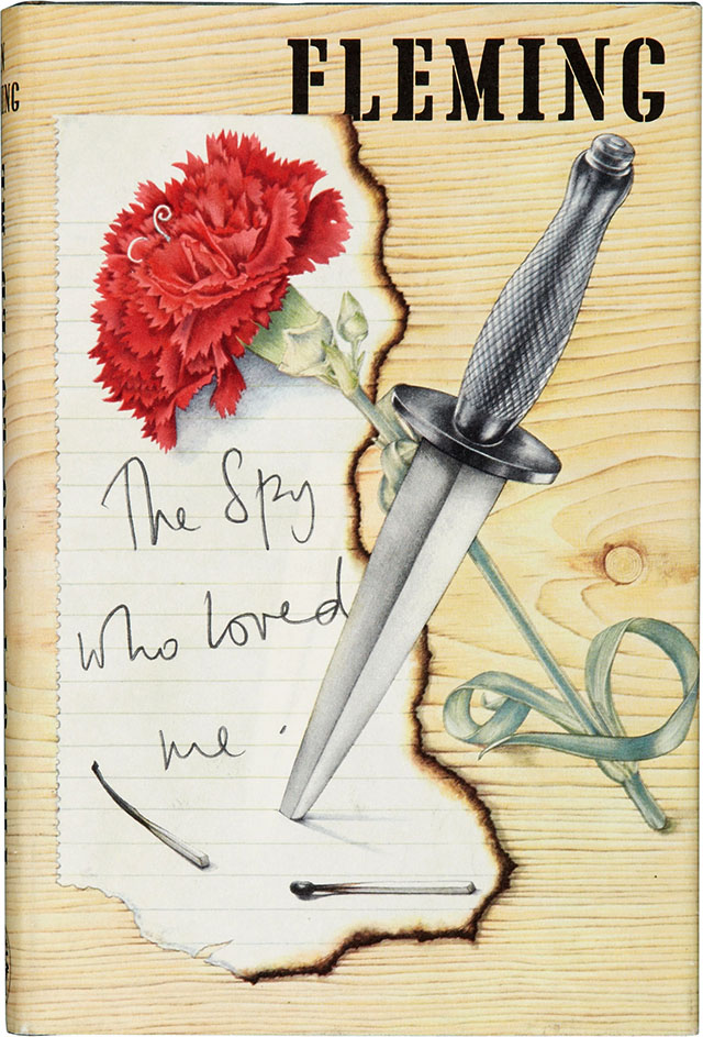 The Spy Who Loved Me book cover