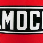 Amoco vintage gas pump globe