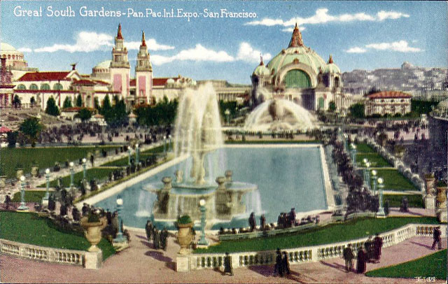 Vintage World's Fair postcard - San Francisco (1915)