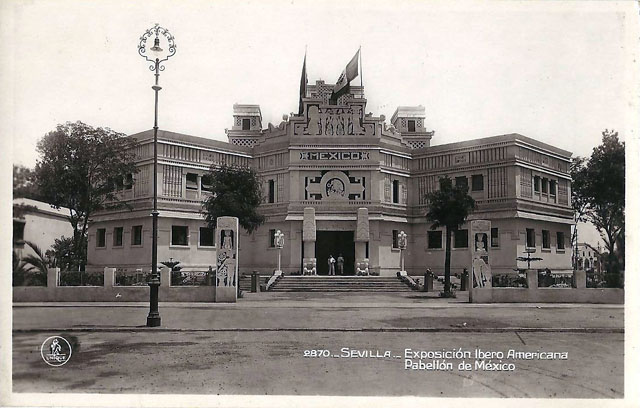 Vintage World's Fair postcard - Seville (1929)
