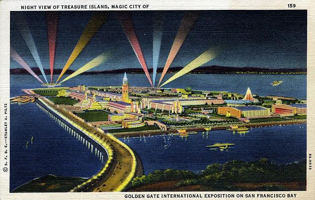Vintage World's Fair postcard - San Francisco (1939/40)