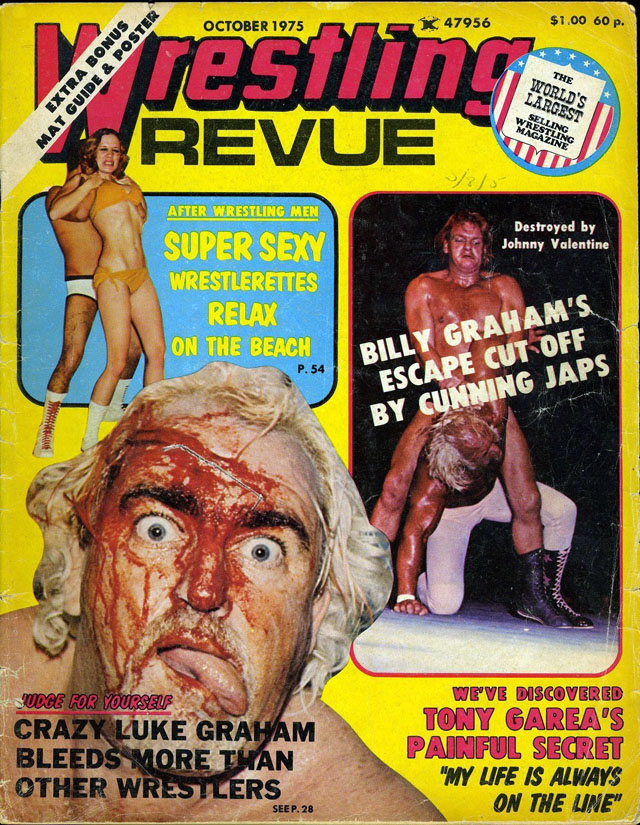 20 vintage pro wrestling magazine covers for Old magazines