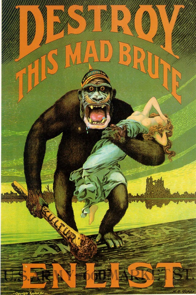 """DESTROY THIS MAD BRUTE - Enlist U.S. Army"
