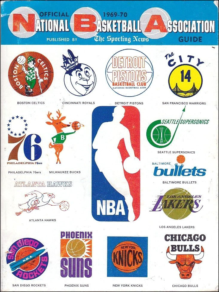 This 1969 70 Sporting News Nba Guide Is Great