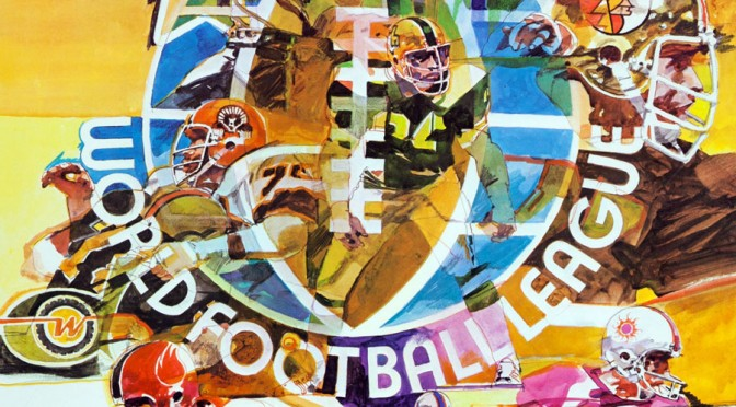 1973-74 World Football League Promotional Poster