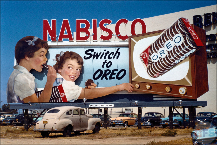 Oreos In A Parked Car