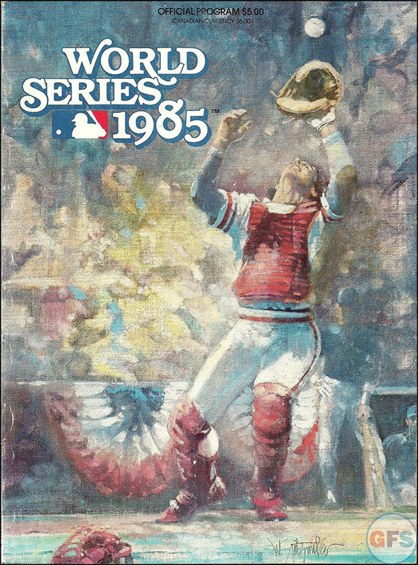 Kansas City Royals World Series Program - 1985