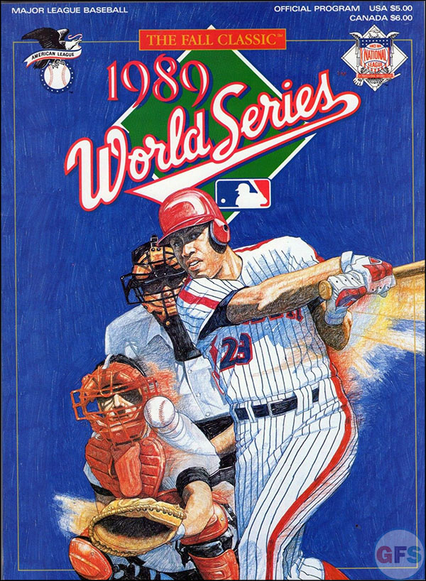 San Francisco Giants World Series Program - 1989