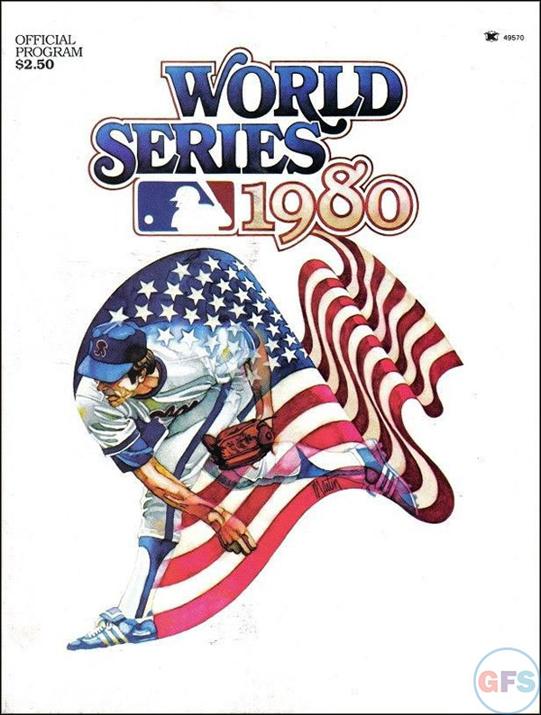 Kansas City Royals World Series Program - 1980