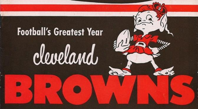Cleveland Browns 1950 Logo