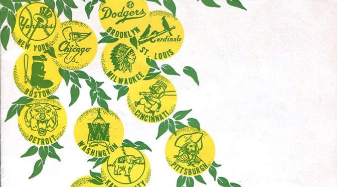 Vintage MLB Spring Training Programs