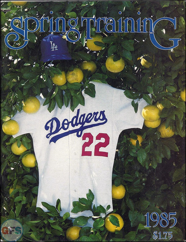 Los Angeles Dodgers, 1985
