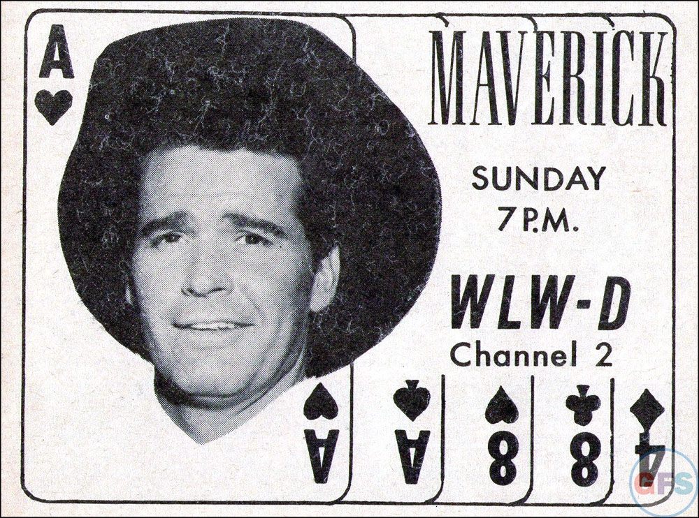 Maverick 1958 TV Guide ad