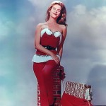 christmas pinup elizabeth montgomery
