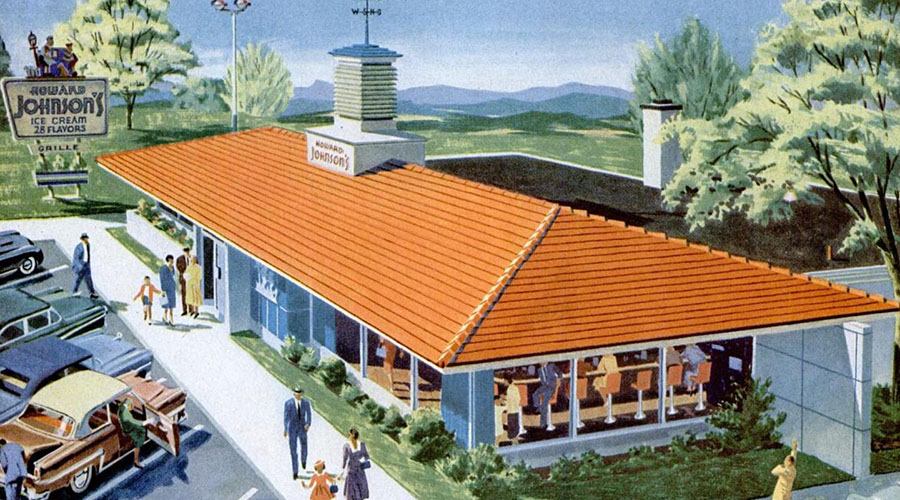 Retrotisements: Howard Johnson's, 1955