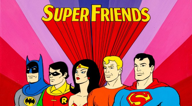 Toon Time: Super Friends Title Card