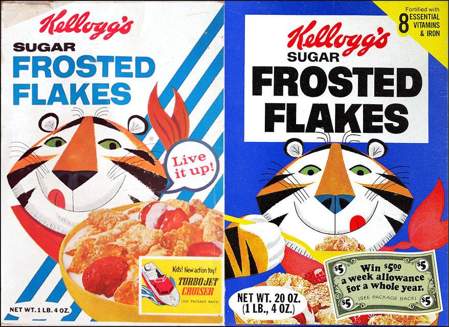 Design Evolution: Vintage Cereal Boxes | grayflannelsuit.net