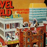 Marvel World Adventure Playset (Amsco, 1975)-feat
