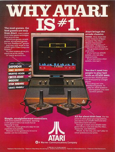 Vintage Ad #127 - Why Atari Is #1