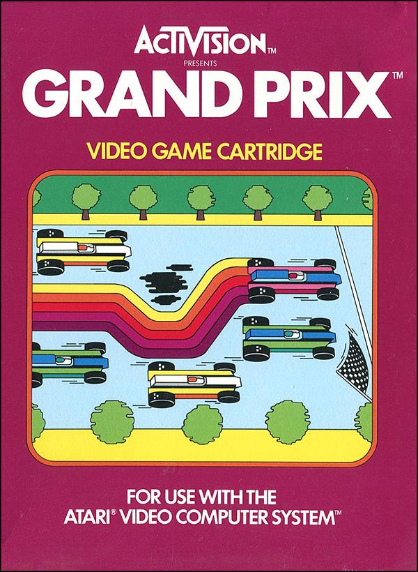 Activision Atari 2600 video game box cover - Grand Prix