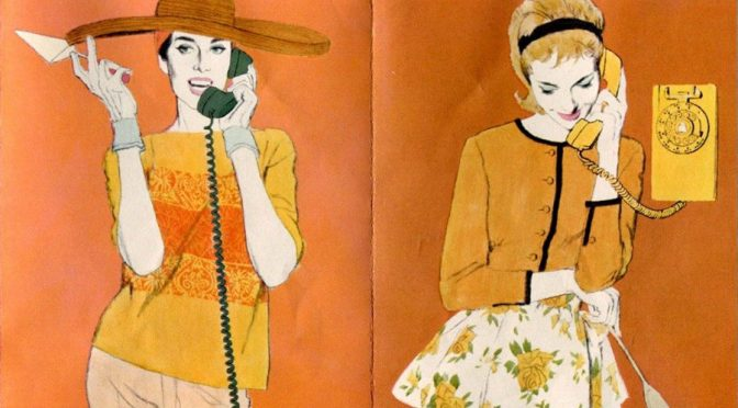 Brochure Beauties #5: Pacific Telephone Colorphones