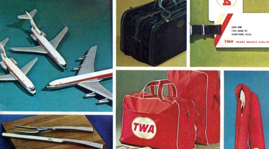 Airline Memories #4: 1970 TWA Flight Shop Catalog