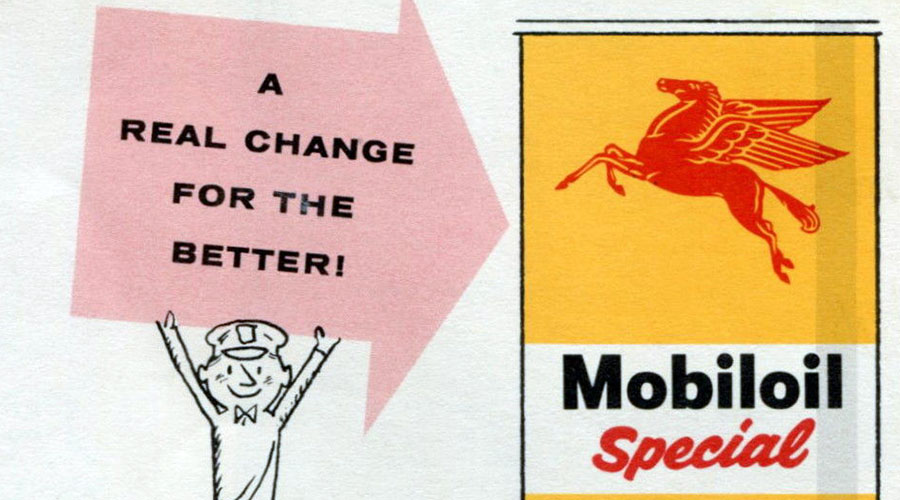 Brochure Beauties #6: Mobiloil Special