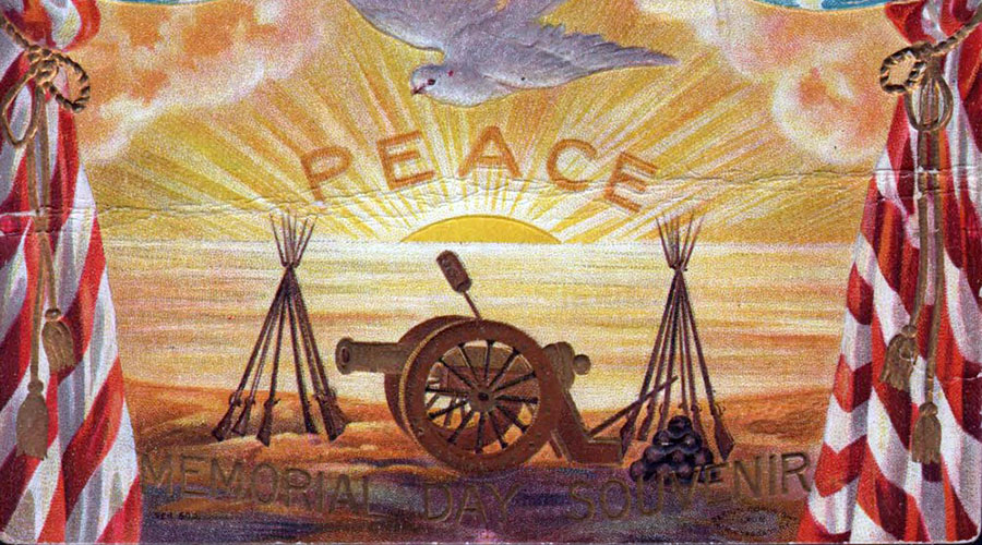 A Gallery of Antique Memorial Day Postcards