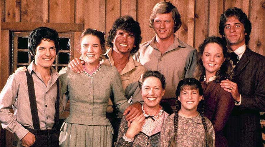 Little House on the Prairie cast photo