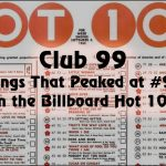 Club 99: Songs That Peaked at #99 on the Billboard Hot 100