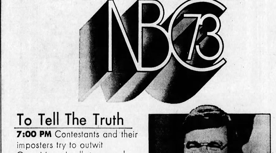 TV Listings Flashback: NBC Prime Time, September 21, 1973