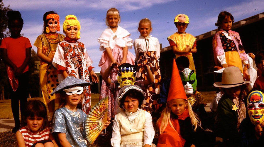 A Gallery of Vintage Halloween Costume Slides