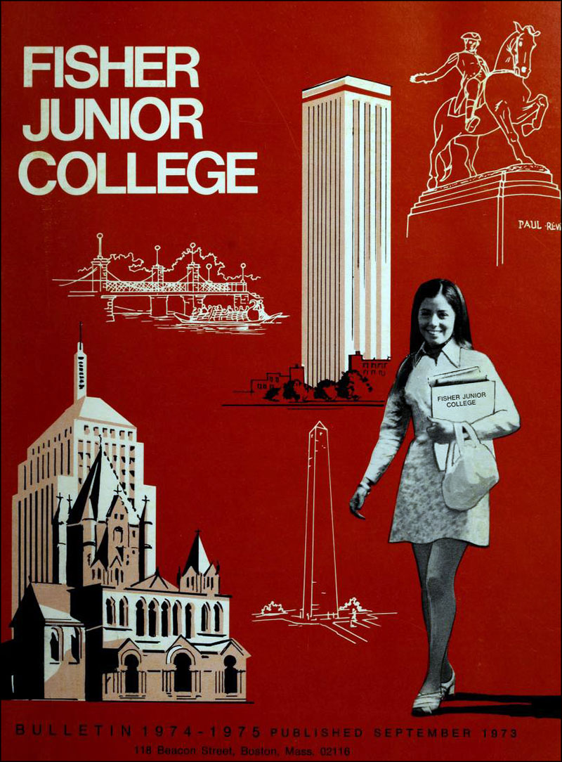Vintage college course catalogs of the 1970s