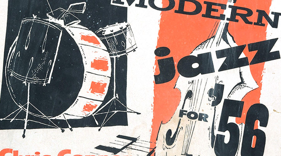 Outstanding Poster Art: Modern Jazz for '56