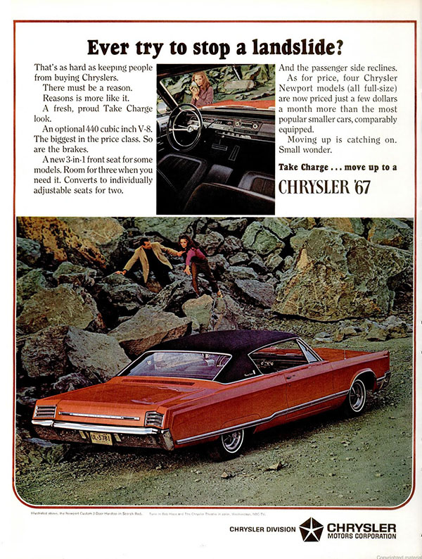 1967 Chrysler ad