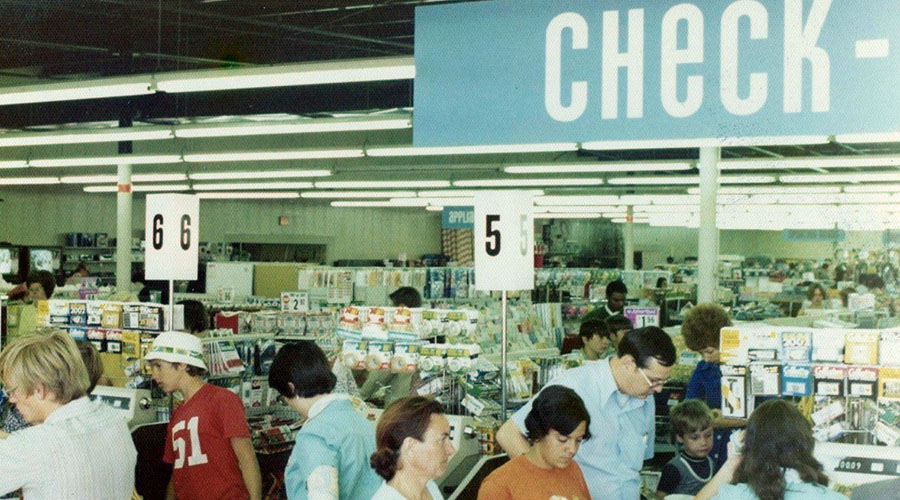 Scenes from a 1970s Kmart