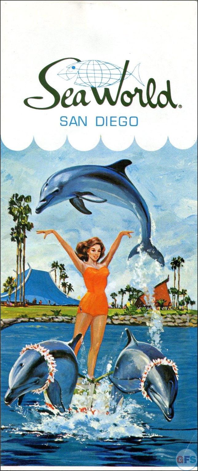 Sea World San Diego brochure, 1964