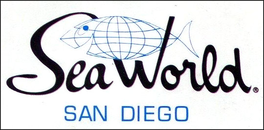 Sea World San Diego brochure logo, 1964