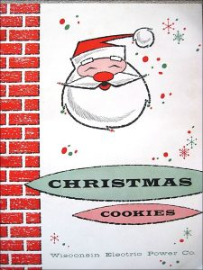 Wisconsin Electric Power Company Christmas Cooky Book