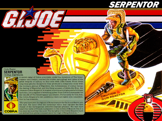 Serpentor, G.I. Joe: A Real American Hero