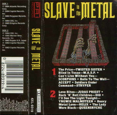 Slave to the Metal