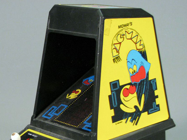Video Game Daze: Coleco Tabletop Pac-Man