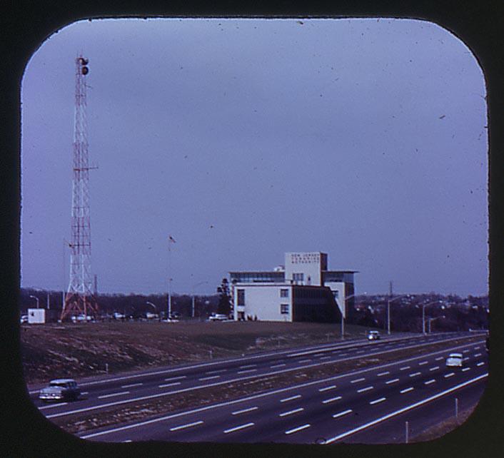 NJ Turnpike - New Jersey 1957 View-Master