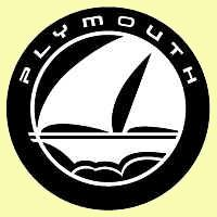 Plymouth sailboat logo